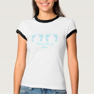 Baby-Abdrücke (Jungen-Zwillinge) T-Shirt