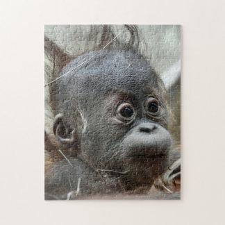 Baby-Affe-Puzzlespiel Puzzle