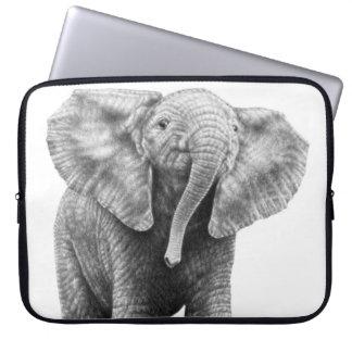 Baby-afrikanischer Elefant-Elektronik-Tasche Laptopschutzhülle