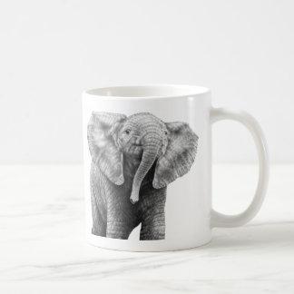 Baby-afrikanischer Elefant-Tasse Kaffeetasse