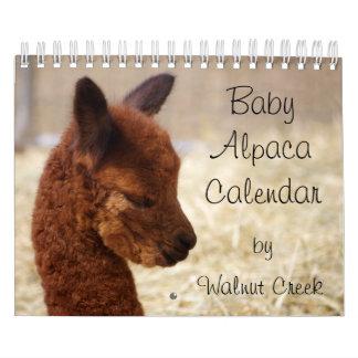 Baby-Alpaka-Kalender 2018 Abreißkalender