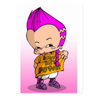 Baby-angesagtes Hopfen Lil Postkarte