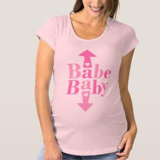 Baby-Baby-Mutterschaft Umstands-T-Shirt
