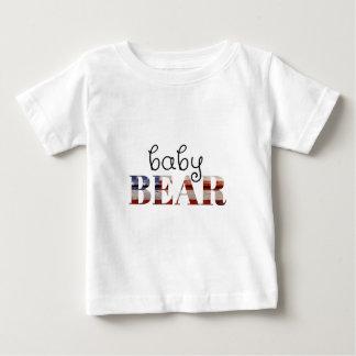 Baby-Bär (amerikanische Flagge) (Familien-Set) Baby T-shirt