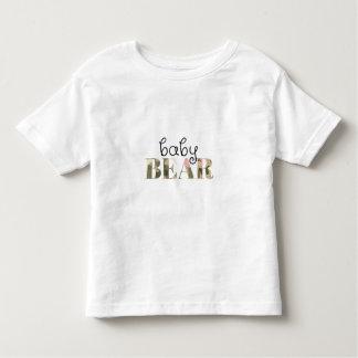 Baby-Bär (girly Camouflage) (Familien-Set) Kleinkind T-shirt