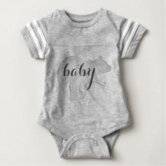 Baby-Bärn-Aquarell-Bodysuit Baby Strampler