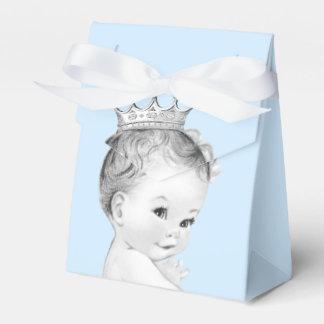 Baby-Blau-Prinz Babyparty Geschenkschachteln