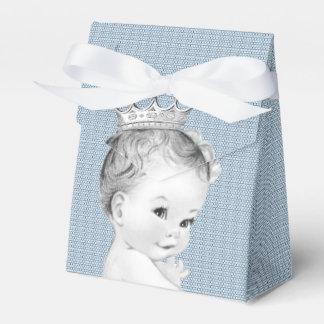 Baby-Blau-Prinz Babyparty Geschenkkarton