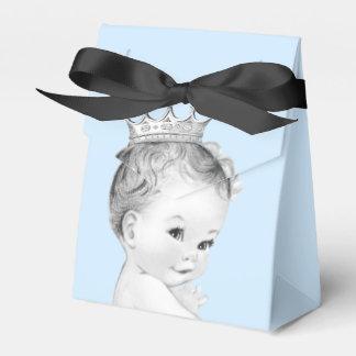 Baby-Blau-Prinz Babyparty Geschenkkartons