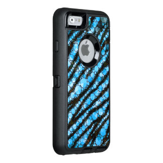 Baby-Blau-Tiger Bling OtterBox iPhone 6/6s Hülle
