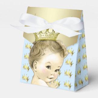 Baby-Blau und Goldprinz Babyparty