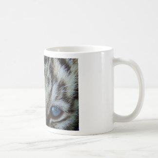 Baby-blaue Augen Kaffeetasse