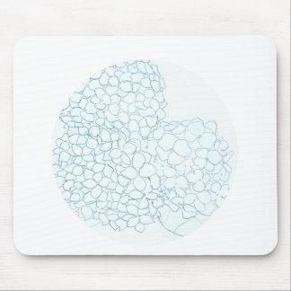 Baby-BlauHydrangea Mousepad