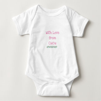 Baby bodysui von der Großmutter Baby Strampler