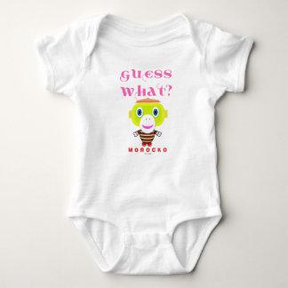 Baby-Bodysuit-    Vermutung was durch Morocko Baby Strampler