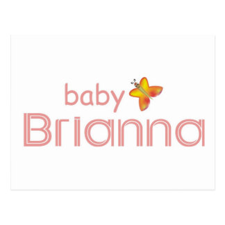 Baby Brianna Postkarte
