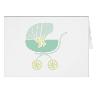 Baby-Buggy Karte