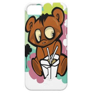 Baby-Cartoonchinese des Bären niedlicher Hülle Fürs iPhone 5