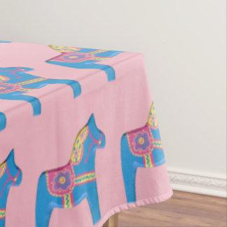 Baby Dala Pferde Tischdecke