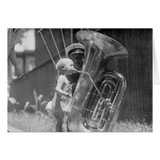Baby, das Tuba, 1923 spielt Karte