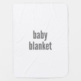 Baby-Decken-Fülle-Schablone Kinderwagendecke
