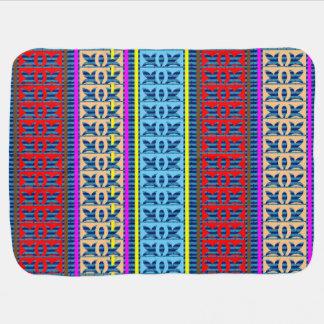 Baby-Decken-Schein-Juwel-Muster 2 SEITENdruck Babydecke