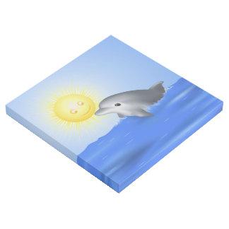 Baby-Delphin Galerieleinwand
