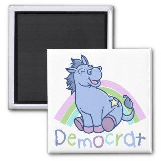Baby-Demokrat-Esel Quadratischer Magnet