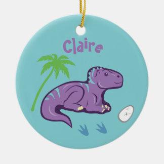 Baby-Dinosaurier Iguanodon Keramik Ornament