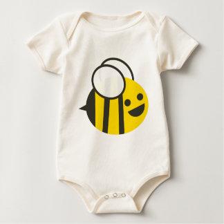 Baby-durchmogelnder Hummel-Bienen-Bodysuit Baby Strampler