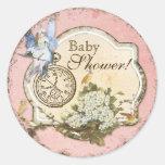 Baby-Duschen-Aufkleber oder Siegel -