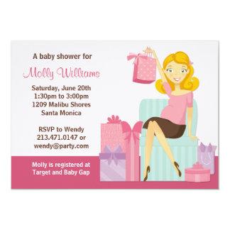 Baby-Duschen-Einladung