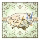 Baby-Duschen-Einladung - verzauberte