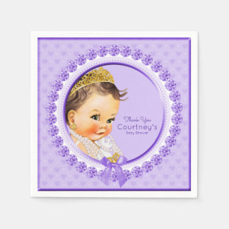 Baby-Duschen-elegantes personalisiertes Serviette