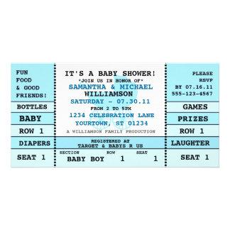 Baby-Duschen-Konzert-Karten-Einladungs-Foto-Karte