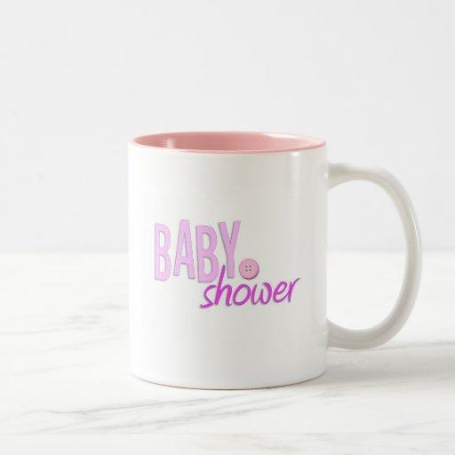 Baby-Duschen-Tasse Zweifarbige Tasse