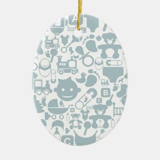 Baby ein background2 keramik ornament