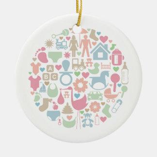 Baby ein Bereich Keramik Ornament