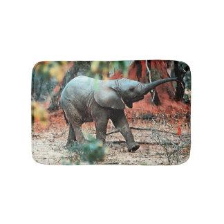 Baby-Elefant Badematten