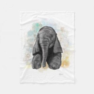 Baby-Elefant Fleecedecke