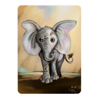 Baby-Elefant Karte