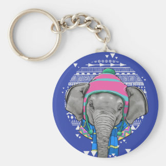 Baby-Elefant keychain Schlüsselanhänger