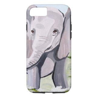 Baby-Elefant (Kunst Kimberlys Turnbull) iPhone 8/7 Hülle