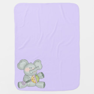 Baby-Elefant-Lavendel Unisex Puckdecke