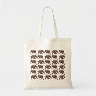 Baby-Elefant-Raserei-Tasche Tragetasche