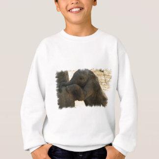 Baby-Elefant-Sweatshirt Sweatshirt