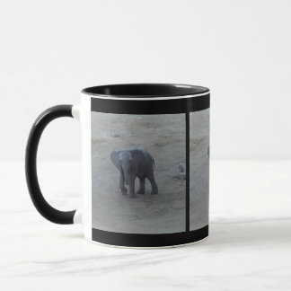 Baby-Elefant-Wecker-Tasse - durch Farn-Savanne Tasse