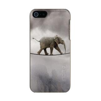Baby-Elefant-Wege das Drahtseil Incipio Feather® Shine iPhone 5 Hülle