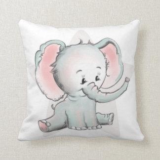 Baby-Elefant Zierkissen