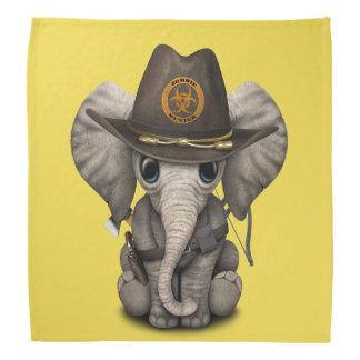 Baby-Elefant-Zombie-Jäger Halstuch